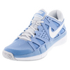 NIKE Women`s Air Vapor Advantage Tennis Shoes Light Blue and Pure Platinum