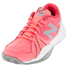 NEW BALANCE Women`s 786v2 B Width Tennis Shoes Guava and White