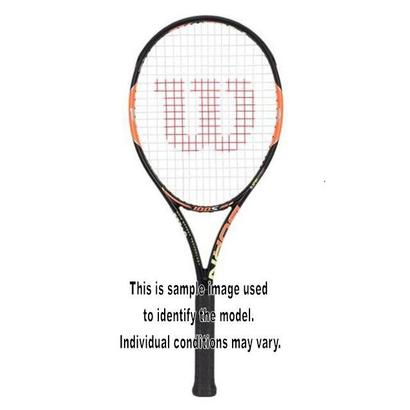 WILSON BURN 100 S USED TENNIS RACQUET 4_3/8