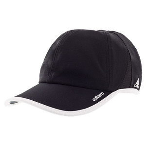 Men`s Adizero II Team Tennis Cap Black and White