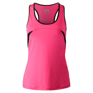 PRINCE WOMENS INTERLOCK RACERBACK TENNIS TANK