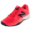 Men`s 996v2 D Width Tennis Shoes Bright Cherry and Black by NEW BALANCE