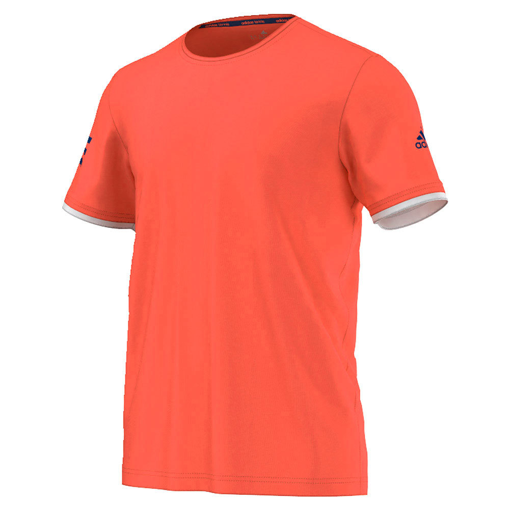 Men's Club Practice Tennis Tee Flash Red