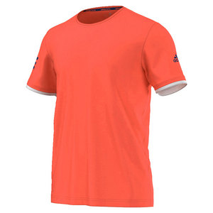 Men`s Club Practice Tennis Tee Flash Red