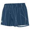ADIDAS Women`s Club Printed Tennis Short Tech Steel