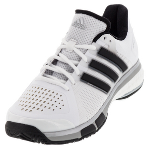 Men`s Tennis Energy Boost Shoes White and Black