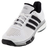 ADIDAS Men`s Tennis Energy Boost Shoes White and Black