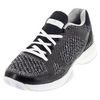 ADIDAS Women`s aSMC Barricade Boost Tennis Shoes Black and White