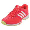 ADIDAS Women`s Barricade Club Tennis Shoes Flash Red and White