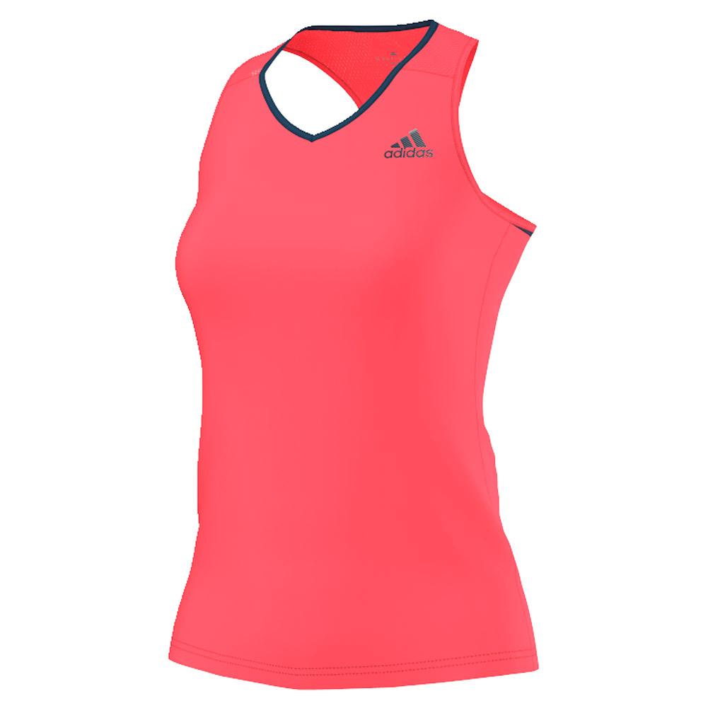 Women's Club Tennis Tank Flash Red