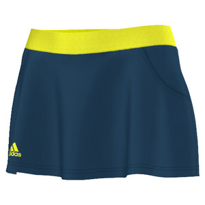 Women`s Club Tennis Skort Tech Steel
