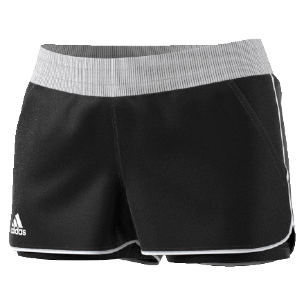 Women's Court Tennis Short Black And White