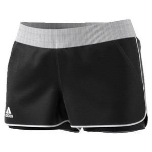 Women`s Court Tennis Short Black and White