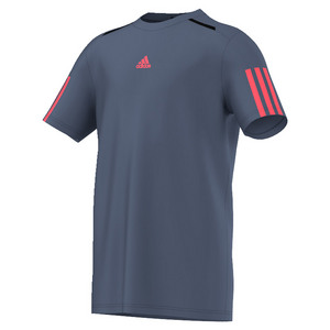 Boys` Barricade Tennis Tee Tech Ink