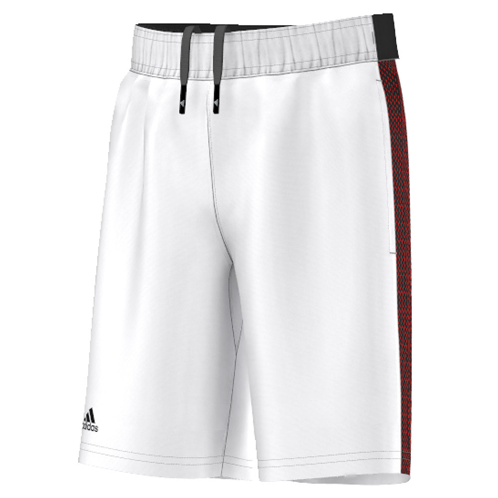 Boys ` Barricade Tennis Short White And Black