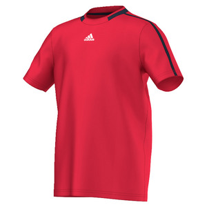 Boys` Club Primefit Tennis Tee Ray Red