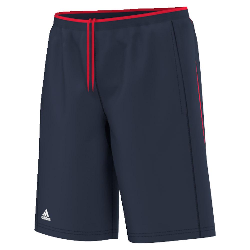 Boys ` Club Primefit Bermuda Tennis Short Collegiate Navy