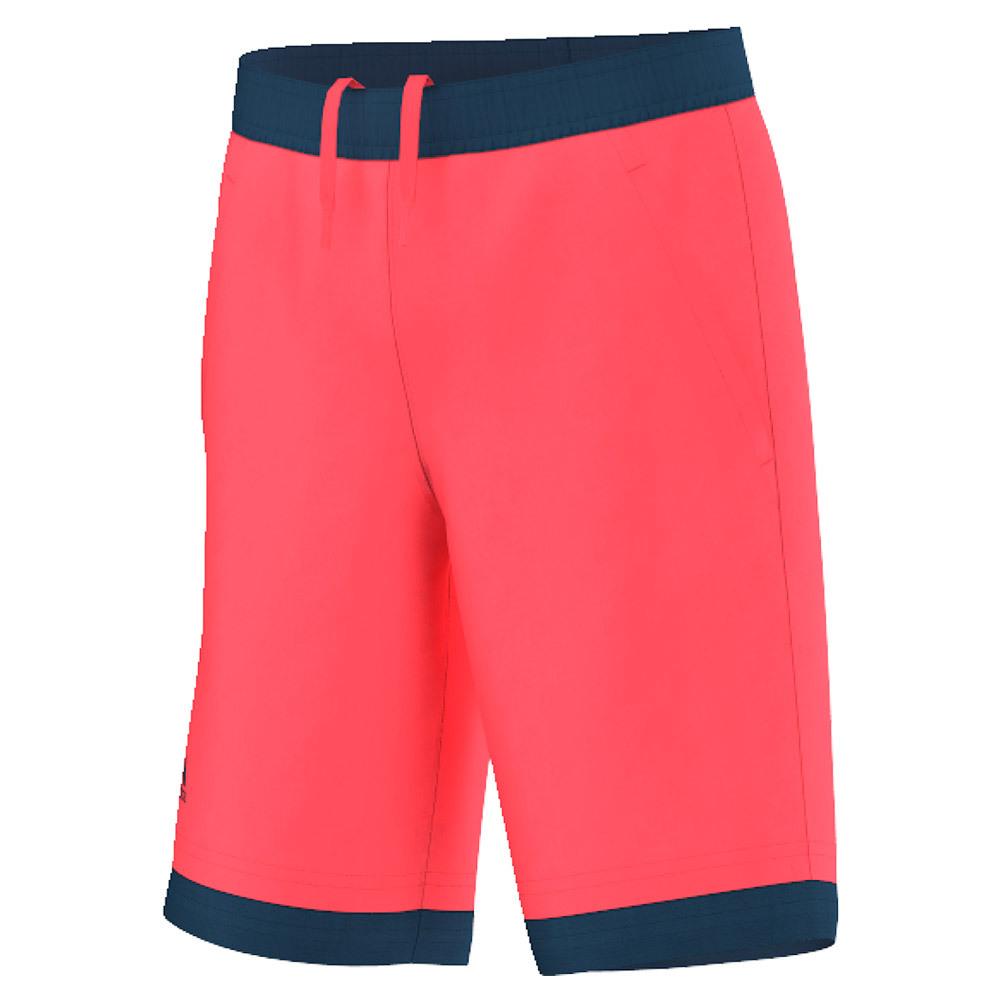 Boys ` Pro Bermuda Tennis Short Flash Red