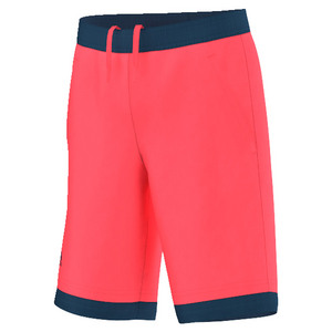 Boys` Pro Bermuda Tennis Short Flash Red