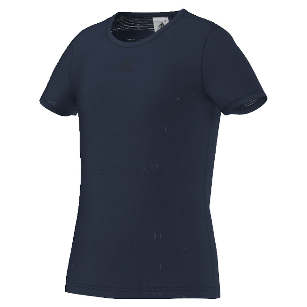 Girls ` Primefit Tennis Tee Collegiate Navy