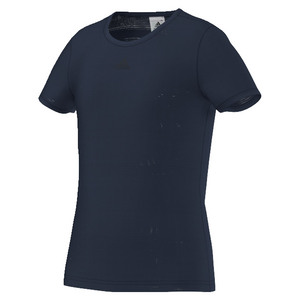 Girls` Primefit Tennis Tee Collegiate Navy