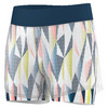Girls` Pro Tennis Short White and Tech Steel by ADIDAS