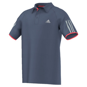 Boys` Club Tennis Polo Tech Ink