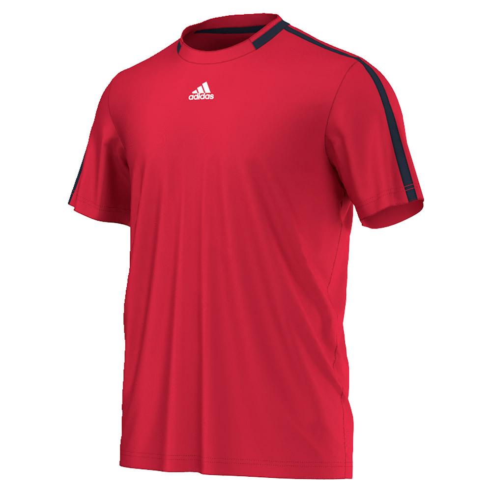 Men's Club Primefit Tennis Tee Ray Red