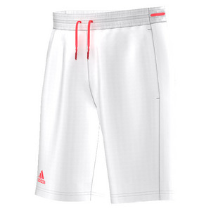 Men`s Club Bermuda Tennis Short White