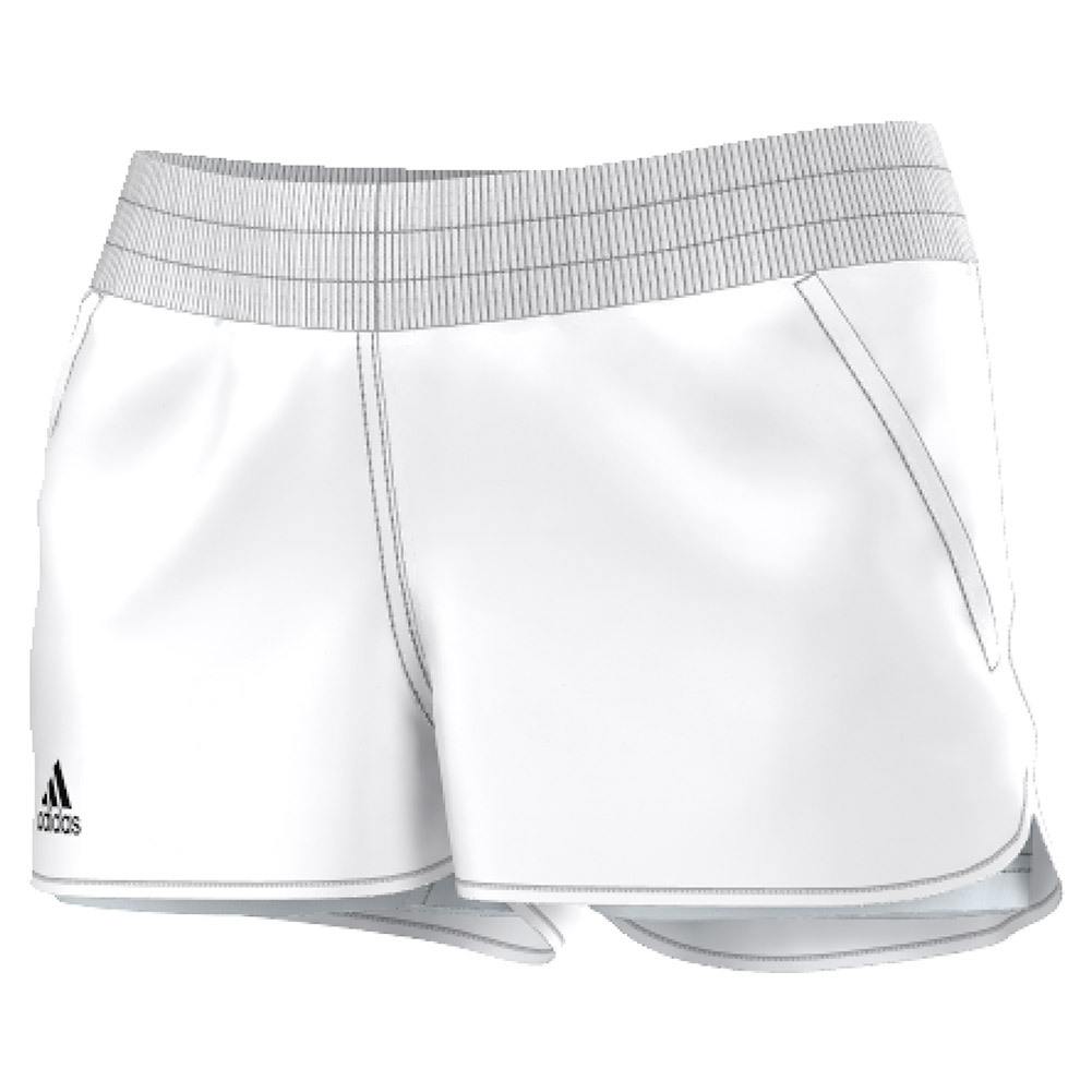Women's Court Tennis Short White