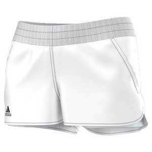 Women`s Court Tennis Short White