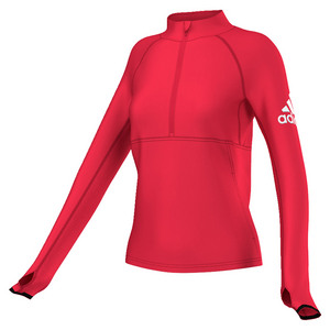 Women`s Performer Half-Zip Jacket Ray Red