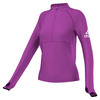 ADIDAS Women`s Performer Half-Zip Jacket Shock Purple