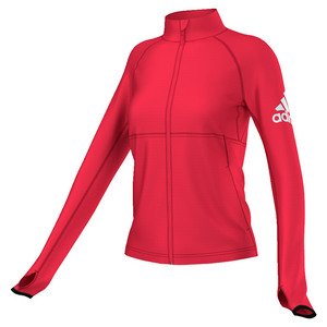 Women`s Performer Full Zip Jacket Ray Red