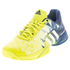 ADIDAS Men`s Barricade 2016 Tennis Shoes Shock Slime and White