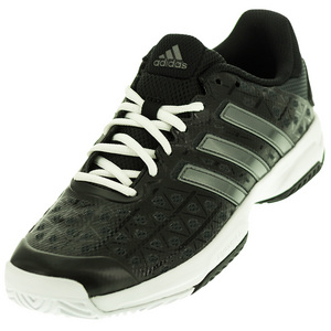 adidas JUNIORS BARR CLUB TNS SHOES BK/NT MET