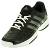 ADIDAS Juniors` Barricade Club Tennis Shoes Black and Night Metallic