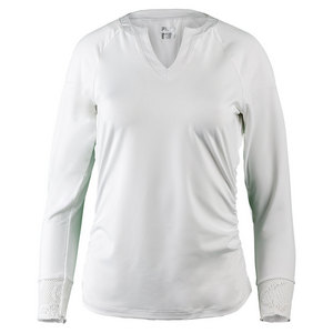 Women`s Ace 3/4 Sleeve Tennis Top White