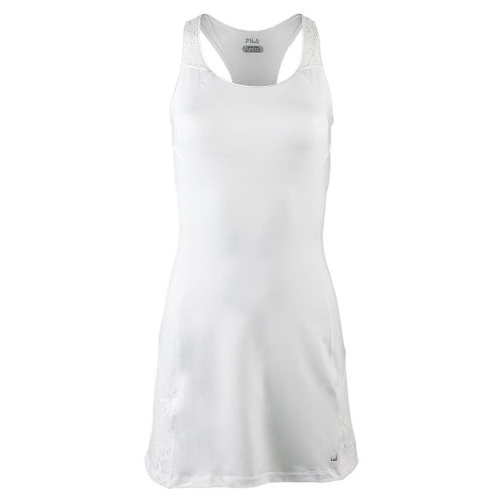 Women's Ace Racer Back Tennis Dress White