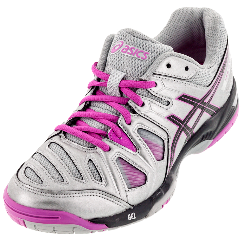 Women's Gel- Game 5 Tennis Shoes Silver And Black