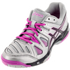 ASICS Women`s Gel-Game 5 Tennis Shoes Silver and Black