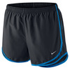 NIKE Women`s Tempo Running Short Black and Light Photo Blue