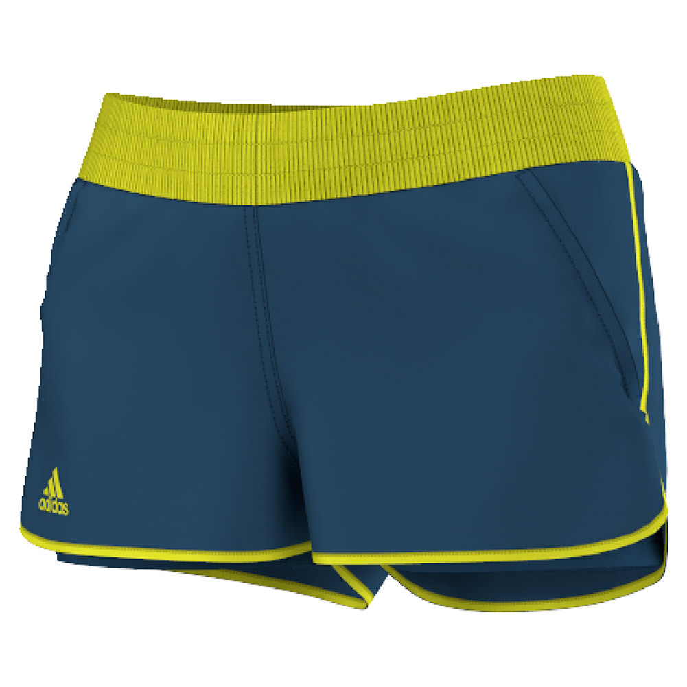 Women's Court Tennis Short Tech Steel And Shock Slime
