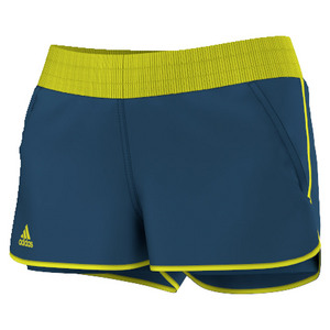 Women`s Court Tennis Short Tech Steel and Shock Slime
