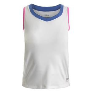 Girls` Diva Sleeveless Tennis Tank