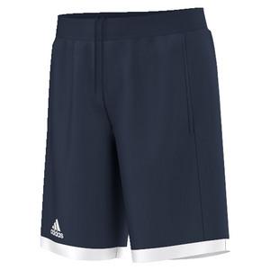 Boys` Court Tennis Short Collegiate Navy