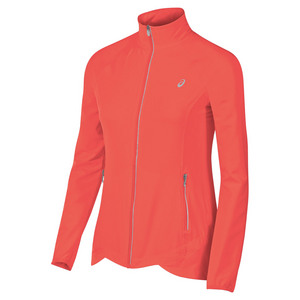 Women`s Packable Jacket Fiery Flame