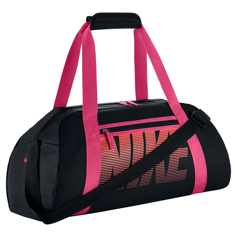 asics duffle bag Pink