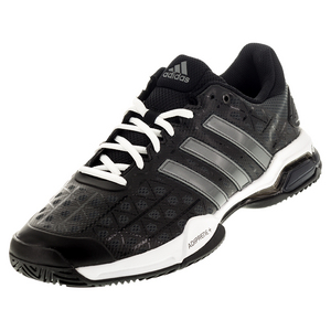 Men`s Barricade Club Tennis Shoes Black and Night Metallic