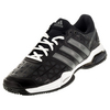 ADIDAS Men`s Barricade Club Tennis Shoes Black and Night Metallic